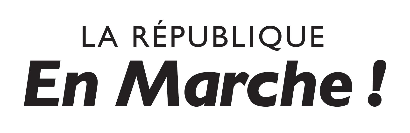 Logo LaRepubliqueEnMarche Noir