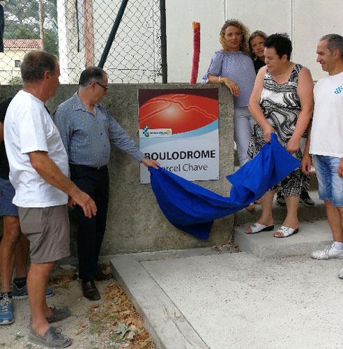 Laqhila Inauguration Boulodrome Plan Des Pennes