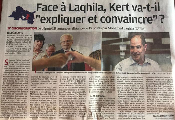 La Provence, édition D'Aix-en-Provence 2