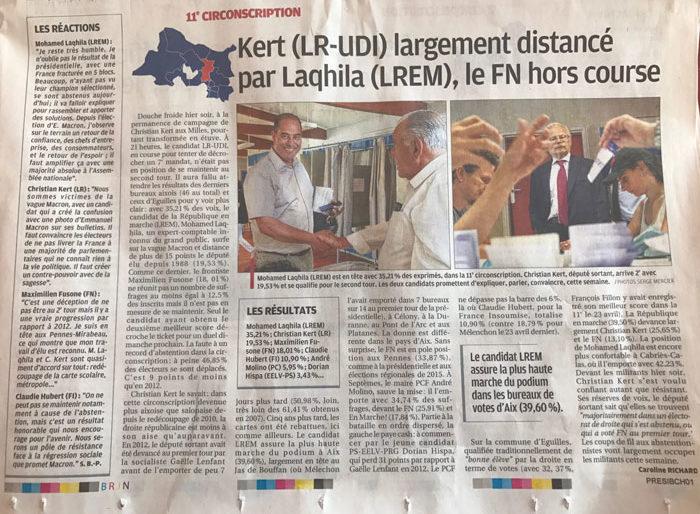 La Provence, édition D'Aix-en-Provence