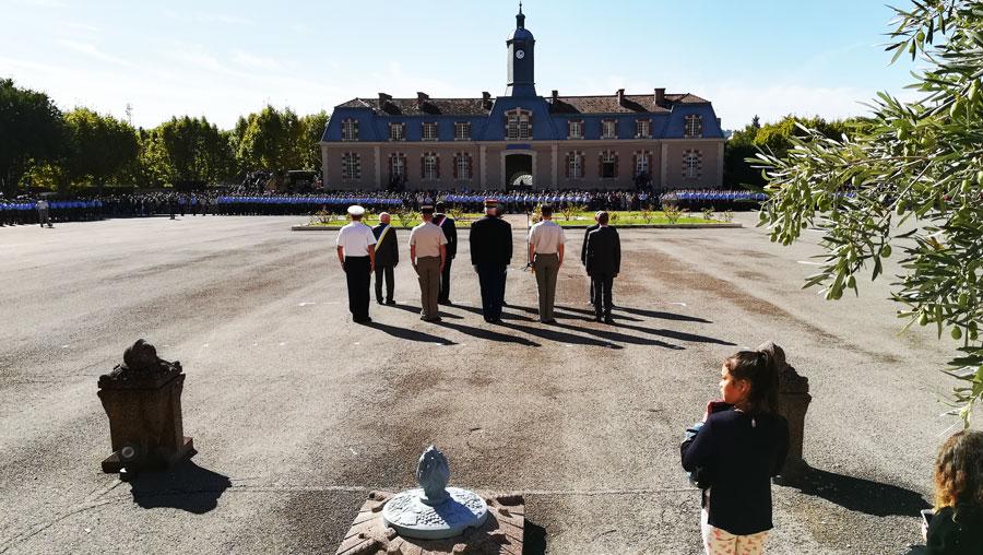 Laqhila Ceremonie Rentree Ecole Militaire Aix En Provence 02