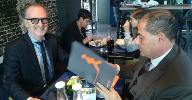 Rencontre Avec Fabrice GREFFET, Président De Prism-Emploi PACA