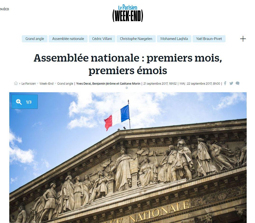 Assemblée Nationale : Premiers Mois, Premiers émois