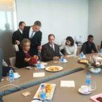 Réunion De Travail Avec La Direction Du Groupe CMA-CGM