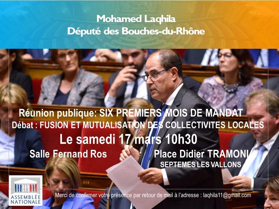 Réunion Publique, Mon Bilan Des Six Mois
