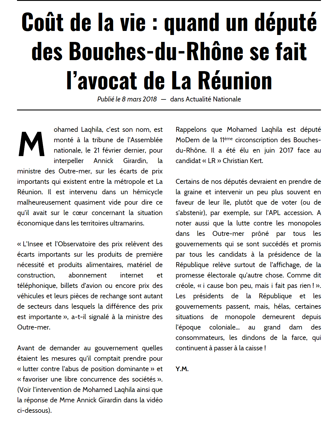 Article Paru Sur Le Site Free Dom