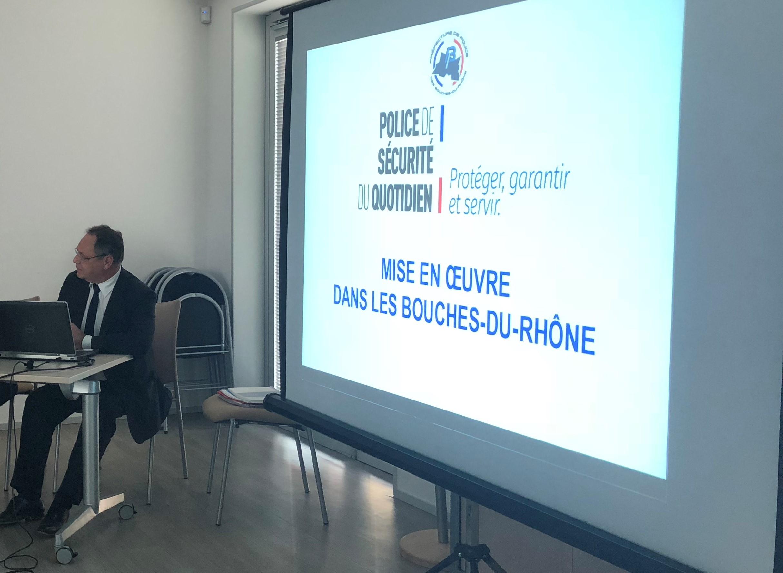Réunion Autour De La Police De Sécurité Au Quotidien