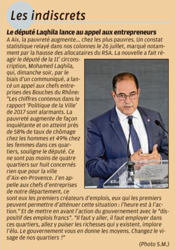 Paupérisation à Aix En Provence
