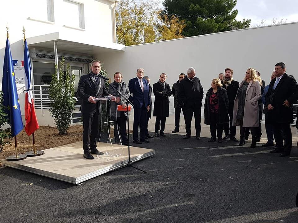 Inauguration De La Maison De Justice Et Du Droit D'Aix-en-Provence Au Jas-de-Bouffan