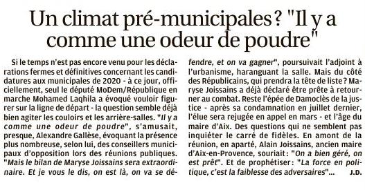 Aix-en-Provence : LE RETOUR DU COTE OBSCUR DE LA FORCE