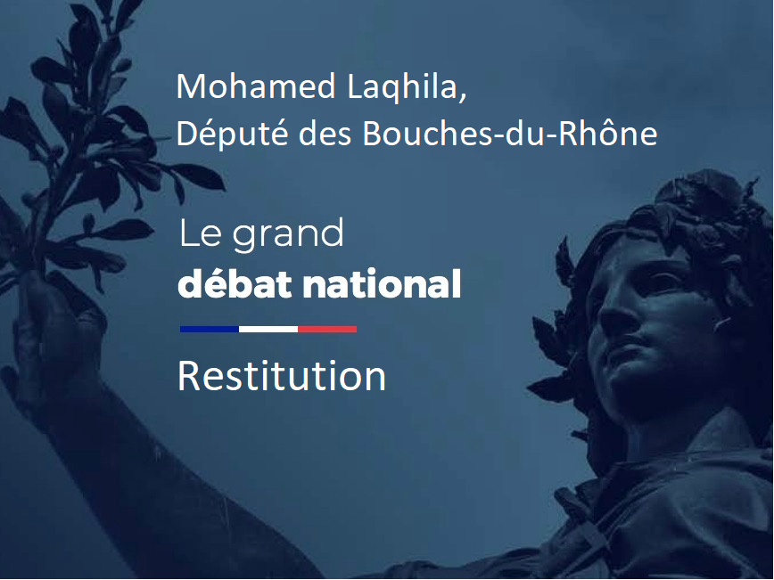 Restitution Et Transmission Des Contributions Citoyennes Du Grand Débat National