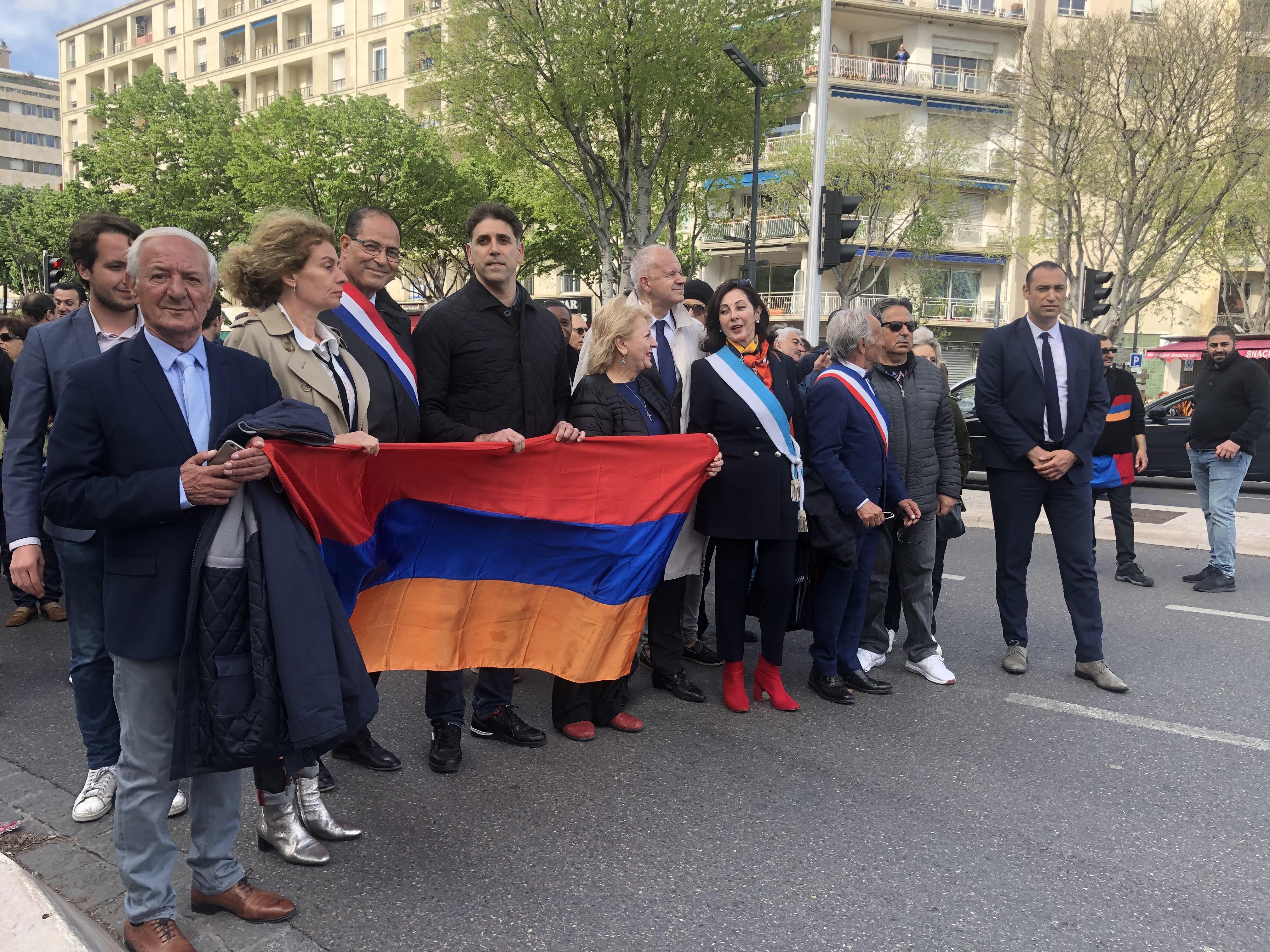 105ème Anniversaire De La Commémoration Du Génocide Des Arméniens