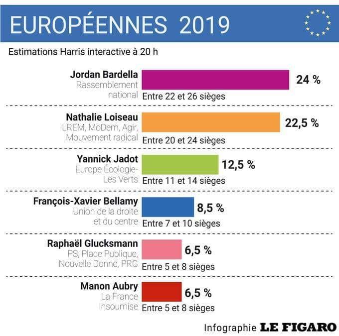 Le Vote Des Français Aux élections Européennes