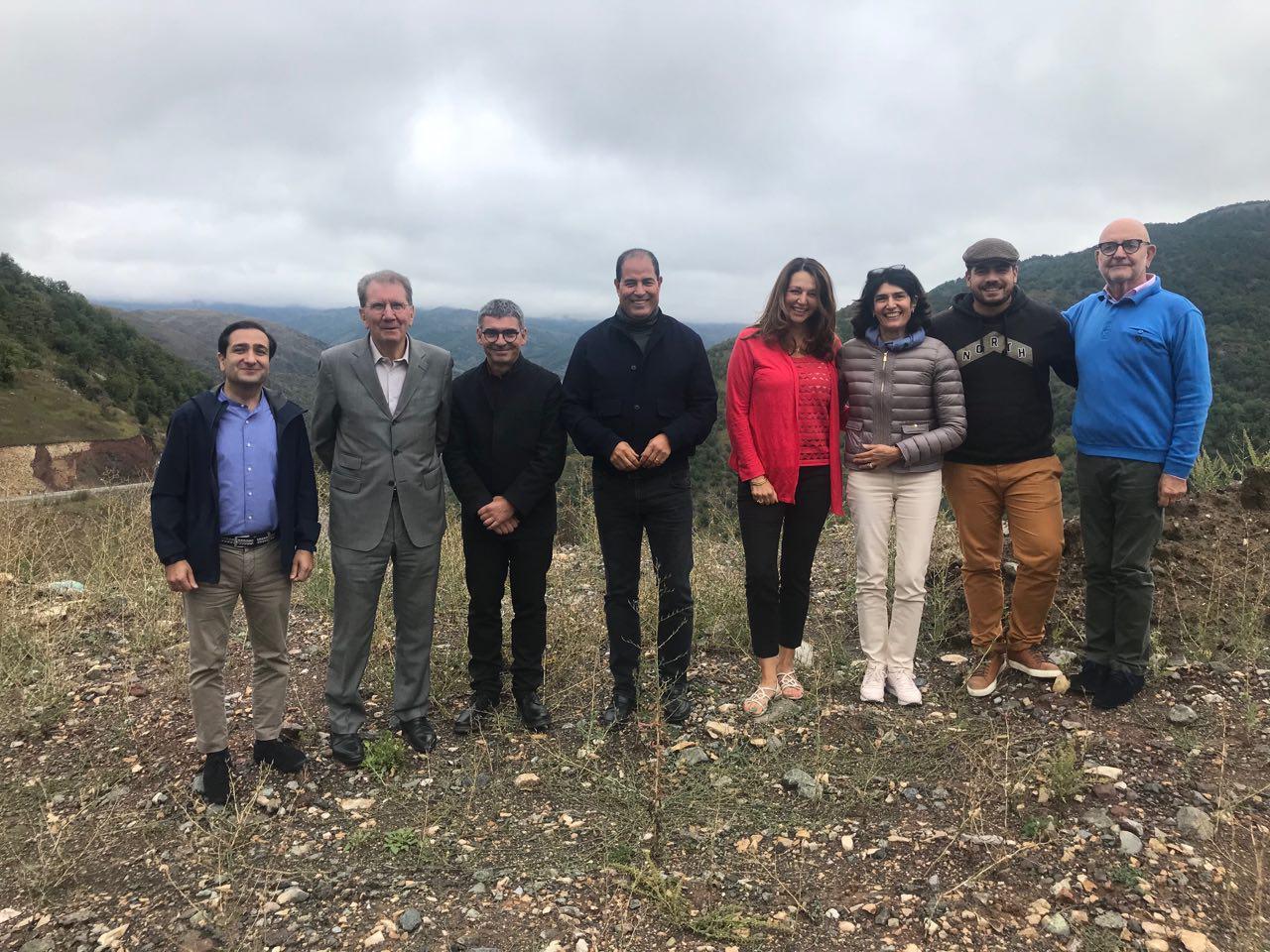 Premier Jour De La Délégation Française En Artsakh