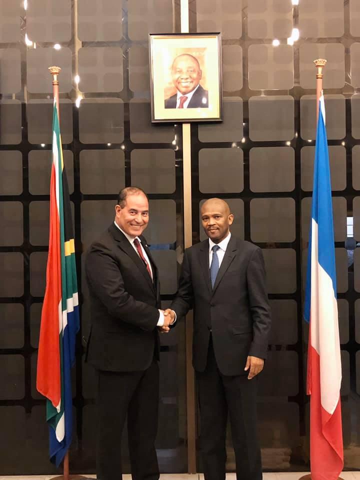 Rencontre Avec L'Ambassadeur D'Afrique Du Sud