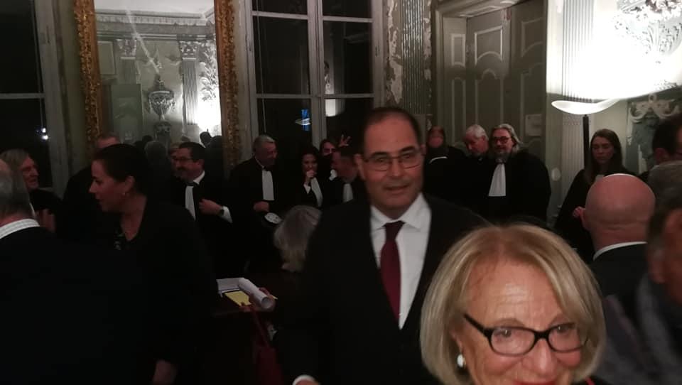 Audience Solennelle Du Tribunal De Commerce