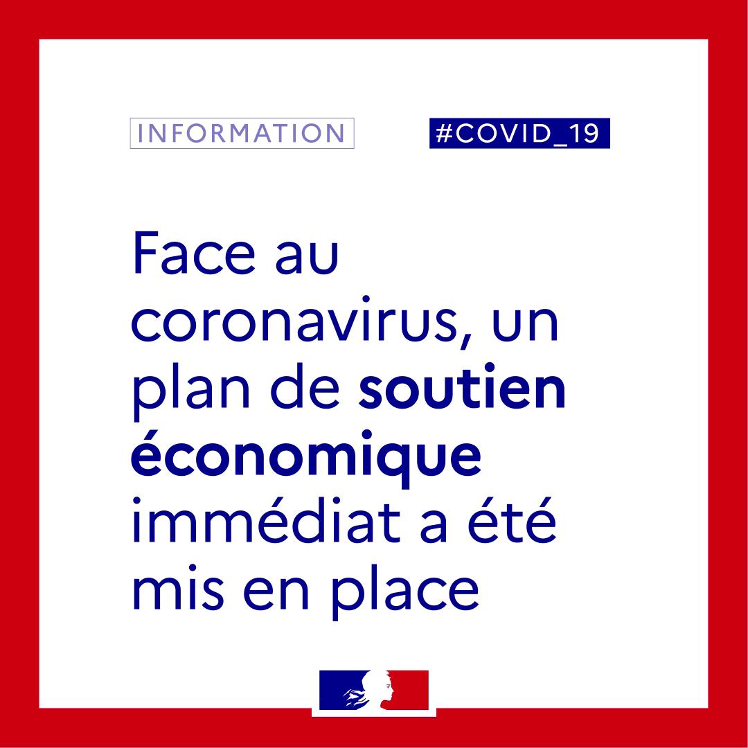 Mesure D'urgence économique Et D'adaptation à La Lutte Contre L'épidémie De COVID-19