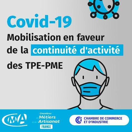 Mobilisation En Faveur De La Continuité D'activité Des TPE PME